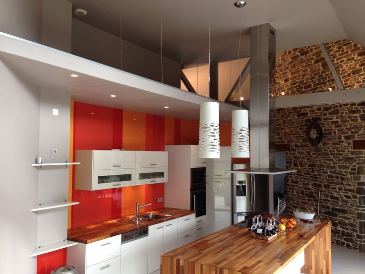 1000 images about r alisations de cuisines on pinterest belle petite cuisine and sons. Black Bedroom Furniture Sets. Home Design Ideas