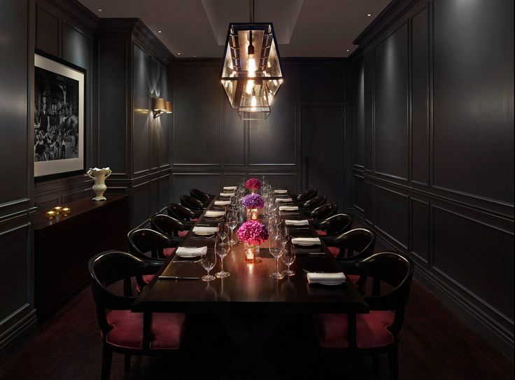 Private Dining Room By Michelin Starred Executive Chef Jason Athertonroom  Available For Meeting Space.