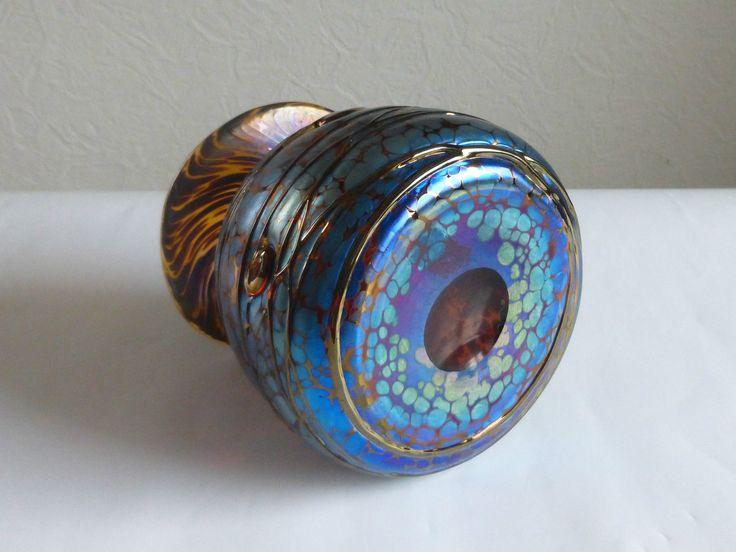 Irisierte Art Jugendstil Kunstvase von Poschinger Frauenau,Glasvase mundgeblasen | Antiquitäten & Kunst, Glas & Kristall, Dekorglas | eBay!