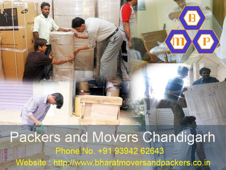 Bharat #Packers and #Movers is providing best packing & moving Service in #Chandigarh.