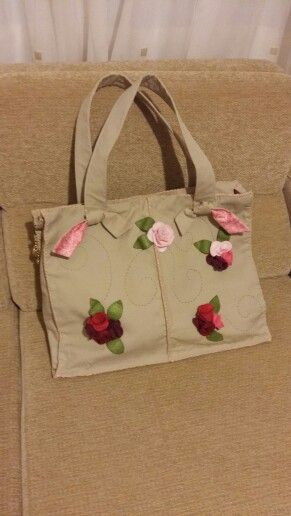 Bag with rose