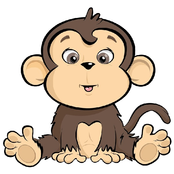 Cartoon Monkeys Fuzzy Pinterest Nursery Art Clip Art And Tattoo Ideas