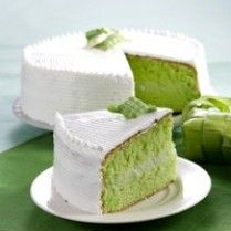 CAKE PANDAN KELAPA http://www.sajiansedap.com/mobile/detail/2809/cake-pandan-kelapa