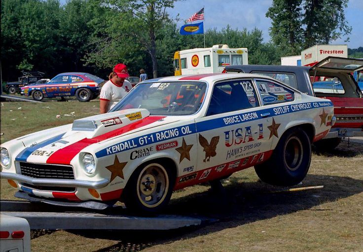Vintage Drag Racing - Pro Stock - Bruce Larson's USA-1 Chevy Vega