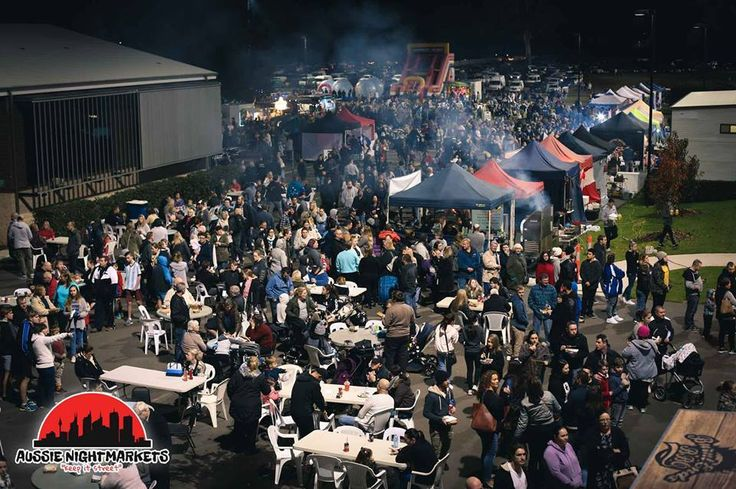 Aussie Night Markets Castle Hill 3rd Saturday of the month