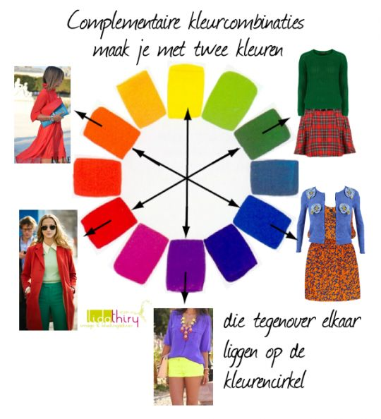 complementaire kleurcombinaties #colorcombination