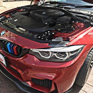 BMW 430i Coupé Red -> RaceChip GTS Black