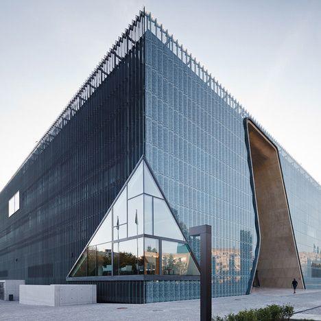 Museum of the History of Polish Jews by Lahdelma & Mahlamäki Architects, Warsaw, Poland