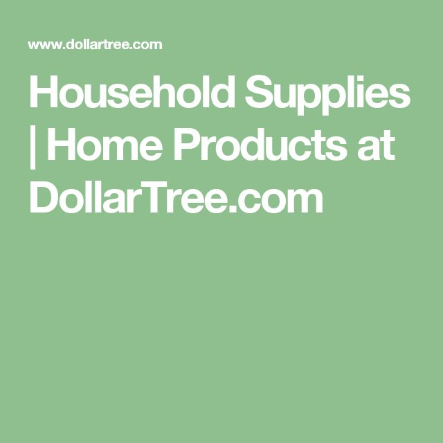 Household Supplies | Home Products at DollarTree.com