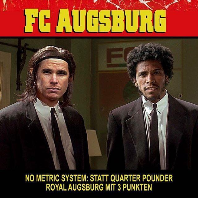 Ich musste auch 2x hinschauen! Habt ihr @marwinhitz und @caiuby_30 erkannt????  Was für ein geiles Bild!! Danke an die BURNING  NUTS !!! (Sucht den Fanclub mal bei Facebook!) ___________________ #fca #augsburg #fcaugsburg #fcasge #frankfurt  #heimspiel #heimsieg #bundesliga #rotgrünweiss #augsburgcity #augsburgerjungs #wwkarena #instadaily #instagood #bundesligageil #haunstetten #fussball #soccer #ig_today