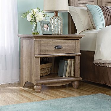 Harbor View Collection Night Stand From Sauder Furniture In Salt Oak  Finish. Http:/