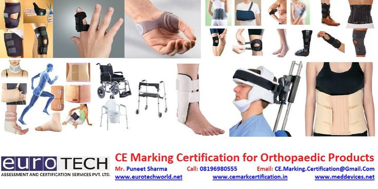 CE Marking Certification: CE Marking Certificate for Orthopaedic products