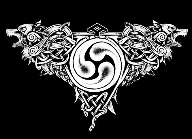 celtic wolf | Celtic Wolves by sfitzgerald