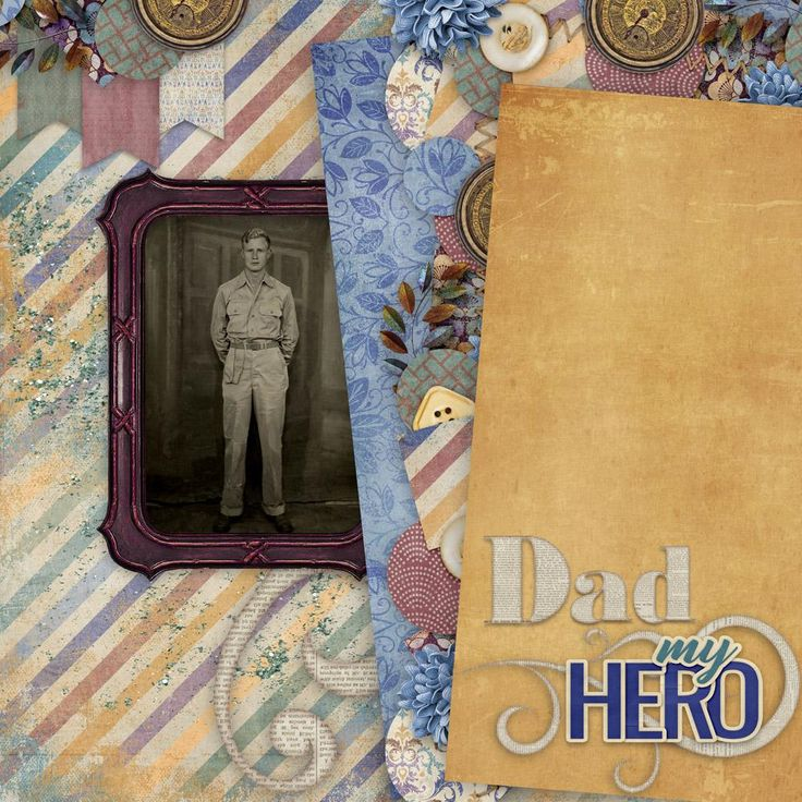 "Heroic by Aimee Harrison Design Studios  Aimee describes her kit Heroic: ""Every year around the time of Martin Luther King's Birthday, I consider all the heroes in my life. Dr. King is one of my biggest heroes and so are my parents. So I decided to create a beautiful kit that could be used for both masculine and feminine layouts, perfect for the hero in your life.""    https://www.digitalscrapbookingstudio.com/digital-art/bundled-deals/heroic-collection/"