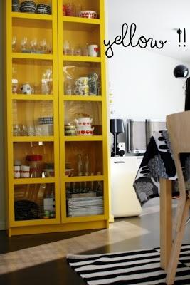 Via Aniliini | Yellow Cupboard | Ikea Rand Rug