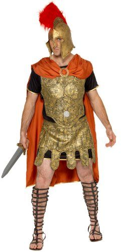 Roman costumes are a timeless fancy dress outfit from togas to this Roman soldier and more.