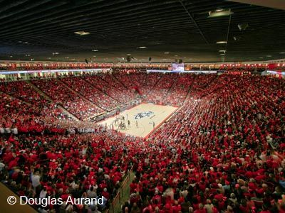 """The Pit"", University Arena, Albuquerque NM. The best place to see a college game!"