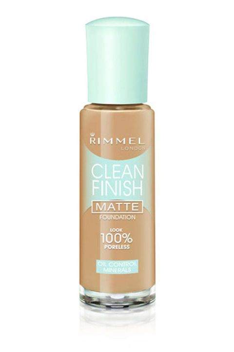 Rimmel Clean Finish Matte Foundation. Shop it and the 13 other best oil-free foundations that will stay put no matter how oily your skin is.
