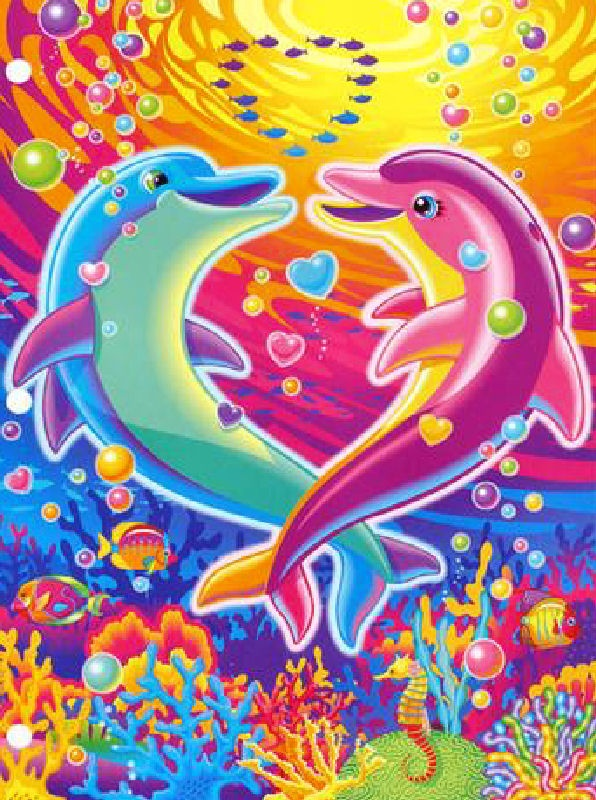 More Lisa Frank Dolphins
