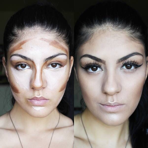 How I contour my face  http://madaradu.wordpress.com www.youtube.com/koollpa