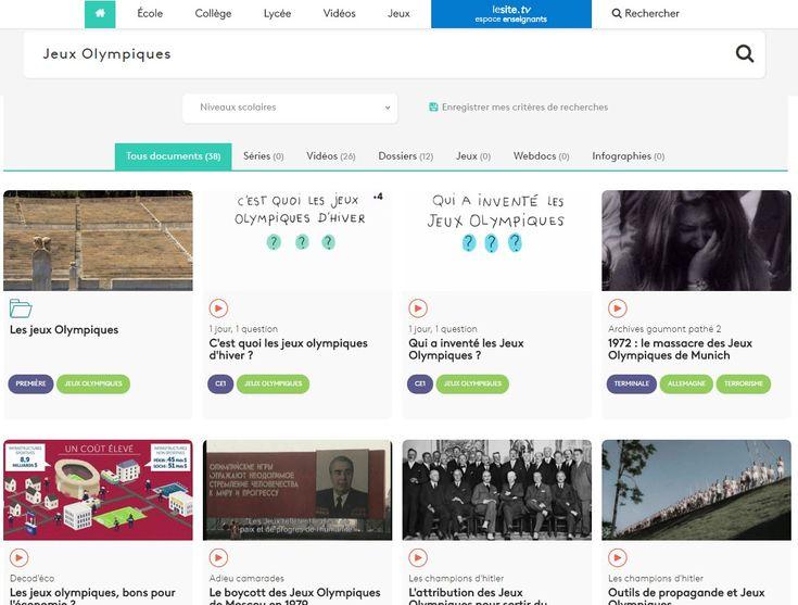 Dossiers et vidéos sur les Jeux Olympiques (FranceTVÉducation)