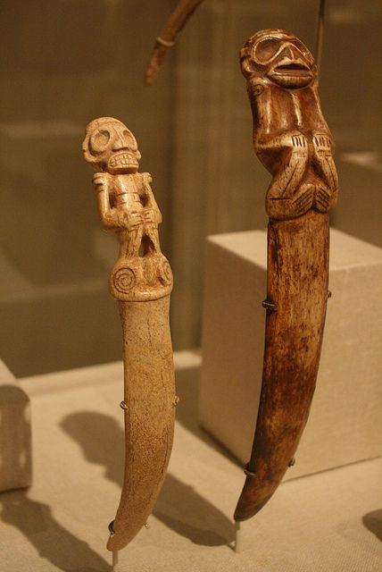 Zemi Spatulas | Dominican Republic, Taino culture 13-15th cent
