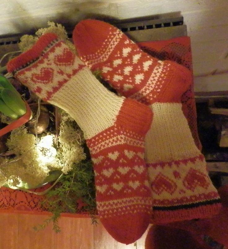 Joulusukat, Christmas socks