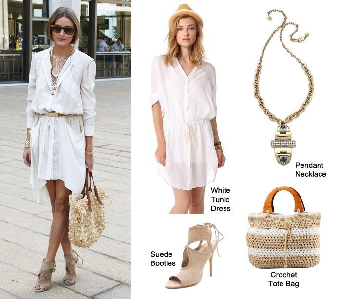 Olivia Palermo chic outfit at New York Fashion Week