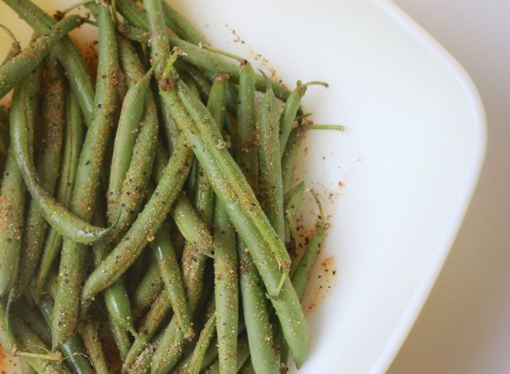 Crispy Green Bean Fries...yum, these have to better than french fries, right??:)
