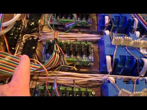 Christmas Lights Control System Part 19 - Version 2 - YouTube