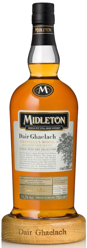 Pernod Ricard adds to their Irish whiskey line with Midleton Dair Ghaelach and Green Spot Château Léoville Barton. Irish Whiskey.