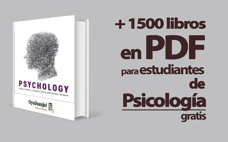 ¡Increíble! Cinco años de universidad resumidos en esta colección de libros para estudiantes de Psicología. ¡Y todo gratis!