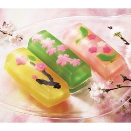 spring flowers wagashi