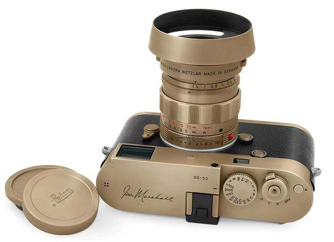 Ready to photograph rockstars? Leica M 246 Jim Marshall Edition Monochrom with 50 Summilux