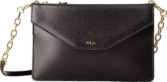 fbf19b4caf6 LAUREN Ralph Lauren Women s Newbury Erika Small Crossbody Black One Size  designer handbags spring handbags handbag
