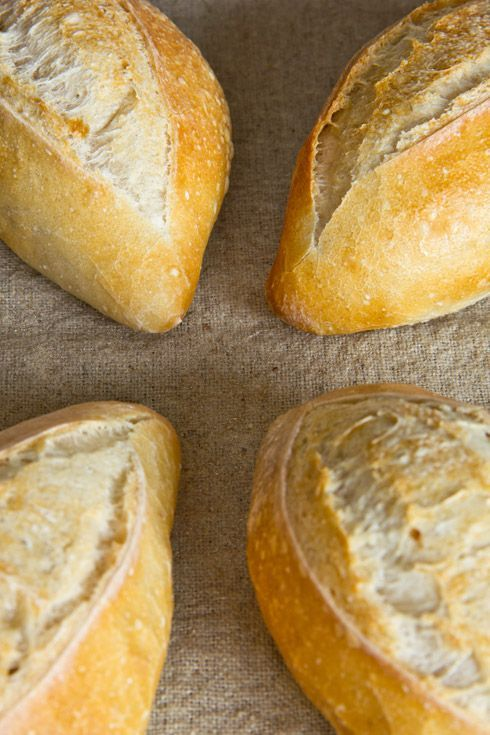 Sachsenbrötchen...recipes on this site are great (all in German)