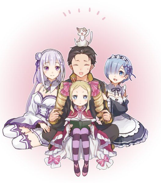 Anime Characters Zero : Anime picture with re zero kara hajimeru isekai