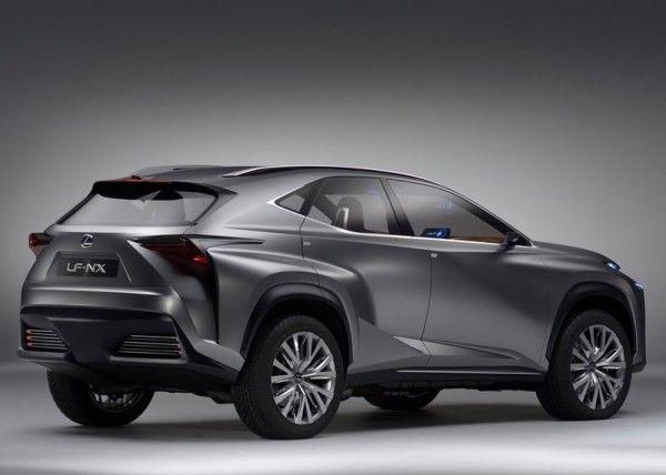 Lexus LF NX Redesign 600x428 2013 Lexus LF NX Concept Reviews