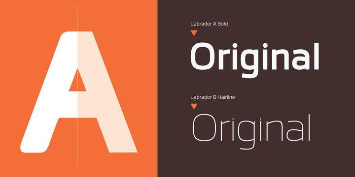 Labrador - Webfont & Desktop font « MyFonts