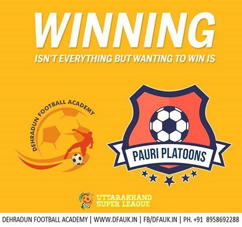 Football Inspiration Dehradun Football Academy,Team Pauri Platoons.Uttarakhand Super League.