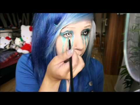 ▶ Verena Schizophrenia ! Monster Energy Makeup Tutorial ♥ - YouTube