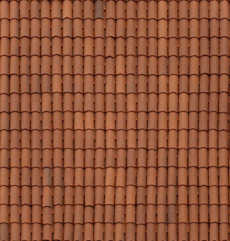 ceramic roof tile seamless texture