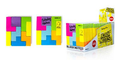 Block Notes : Play puzzle games with sticky notes when you should be working