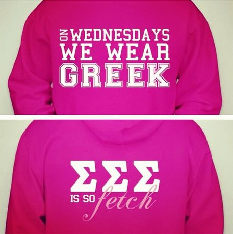 OH MY GOSH MAYBE IF WE GOT THIS PEOPLE WOULD ACTUALLY WEAR THEIR LETTERS ON WEDNESDAY!!! YOUR VP PR WOULD LOVE LOVE LOVE IT!
