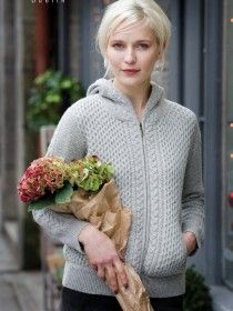 Wool Cashmere Hoody A669