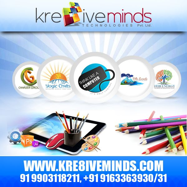 Have you redesigned your company's logo? If not, then make sure you do it now! Avail http://www.kre8iveminds.com/ #logodesign service at an affordable cost!