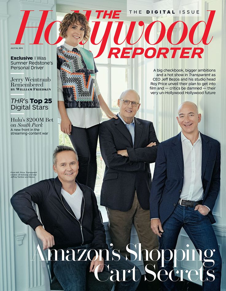 Image result for IMAGE OF HOLLYWOOD REPORTER WITH ROY PRICE STORY