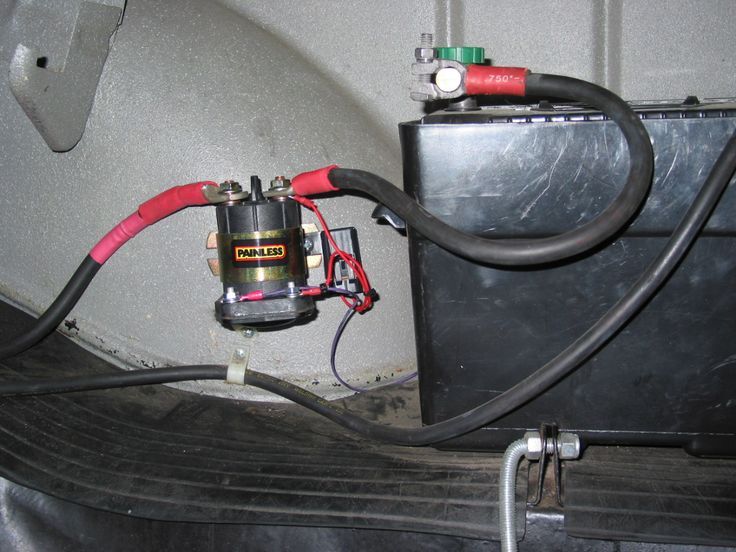 Rv Ac Wiring Harness Kill Switches Master Battery Disconnect Article From
