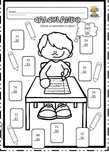 Multiplicando EM PDF - Atividades Adriana