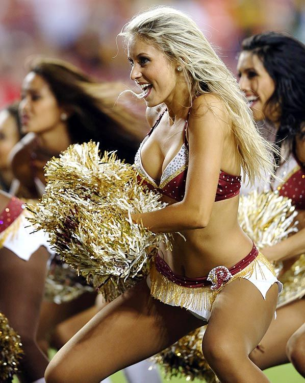 Nfl cheerleaders reportedly forced to pose topless in front of donors